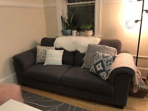 Large Grey Ikea Couch