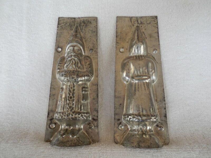 Chocolate Mold Santa Collectible Antique Vintage