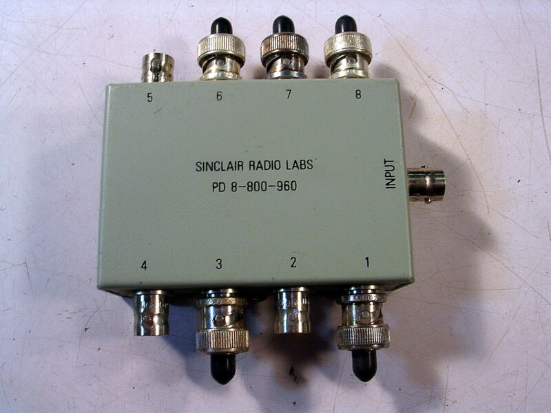 SINCLAIR RADIO LABS SPLITTER NOS