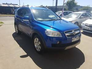 2008 Holden Captiva LX SUV TURBO DIESEL 7 SEATER Williamstown North Hobsons Bay Area Preview