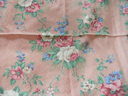 Vintage Blue Rose Fabric