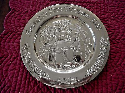Dirilyte Dirigold Christmas Around the World Plate 1998 - Australia Plate # 1001