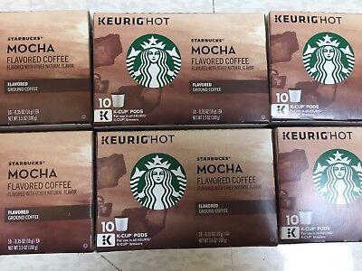 Starbucks Mocha Coffee, Keurig K-Cups 60 Ct