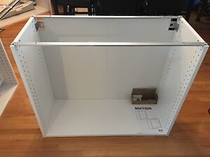 IKEA sektion base cabinet frame