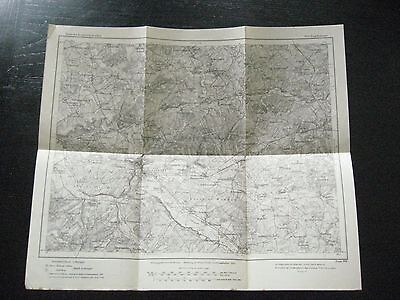 alte Landkarte Karte des Deutschen Reiches Nr.600 Bourdonnaye von 1910