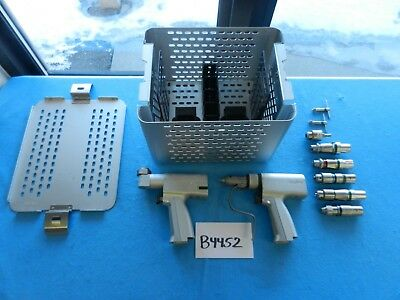 Stryker Surgical Orthopedic System 4 Saw Drill Set W Case 4103 4108