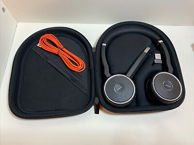 Jabra Evolve 65 MS Stereo Wireless Headset (6599-823-309) - Perfect Condition