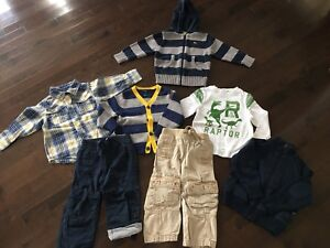 Lot Old Navy Boys Fall/Winter Clothes - Size 2