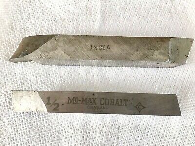 2 Cutting Tools From Metal Lathe