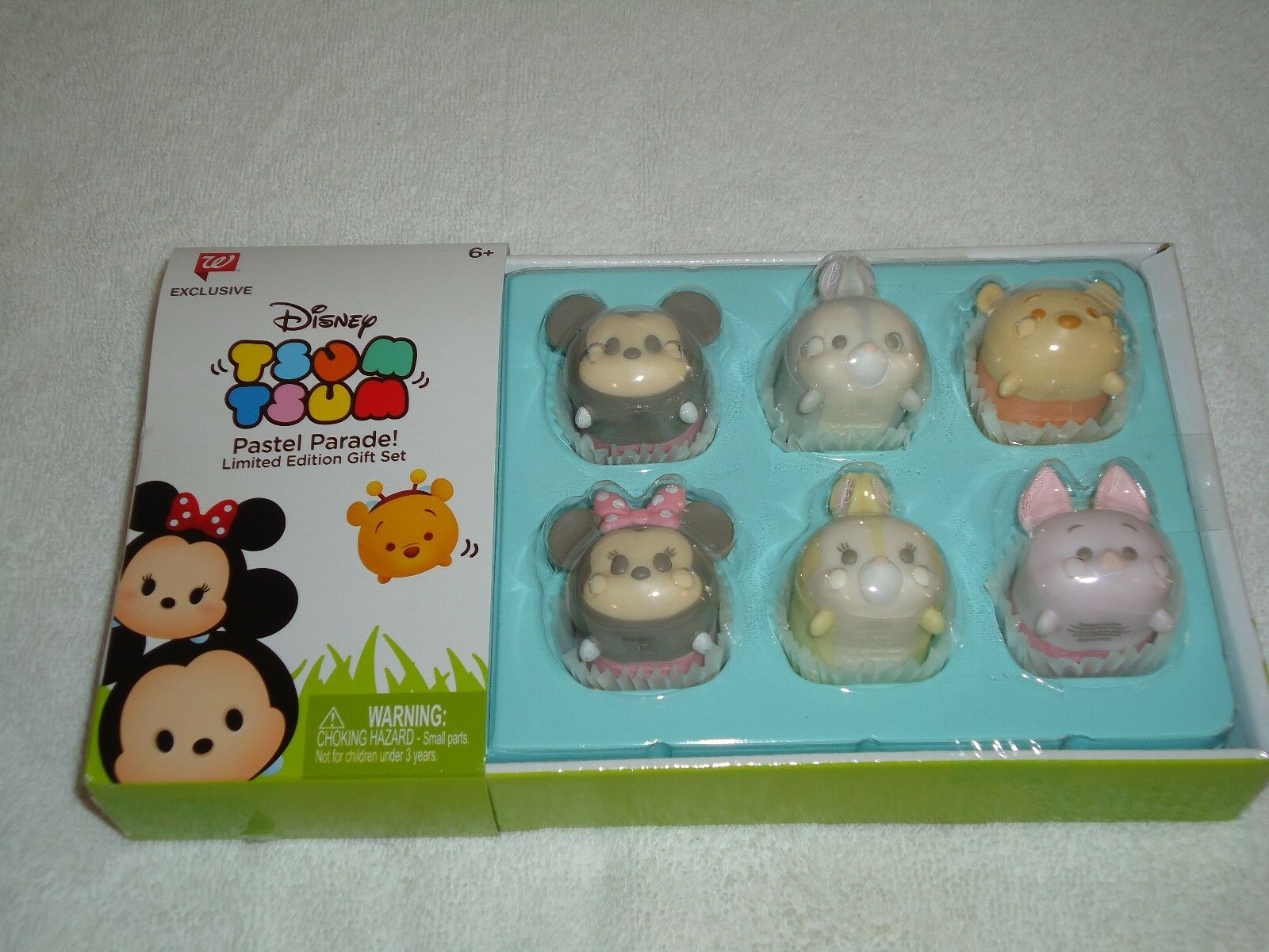 Disney Tsum Tsum Pastel Parade Limited Edition Gift Set - NE
