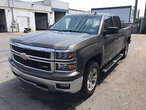2014 Chevy 1500 LT Z-71 4x4 Crew Back up camera Heated seats