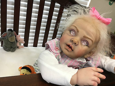 Zombie Reborn Baby Doll GIRL SO cute, SOLD OUT KIT