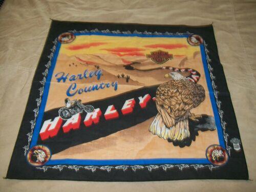 "HARLEY-DAVIDSON ""HARLEY COUNTRY"" BANDANA / NWOT"