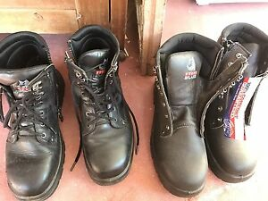 Work boots 2 pairs Midvale Mundaring Area Preview