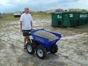 Muck truck max motorized wheelbarrow powerbarrow ebay for Motorized wheelbarrows for sale