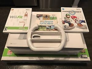 Wii System with Wii Fit and MARIO Kart