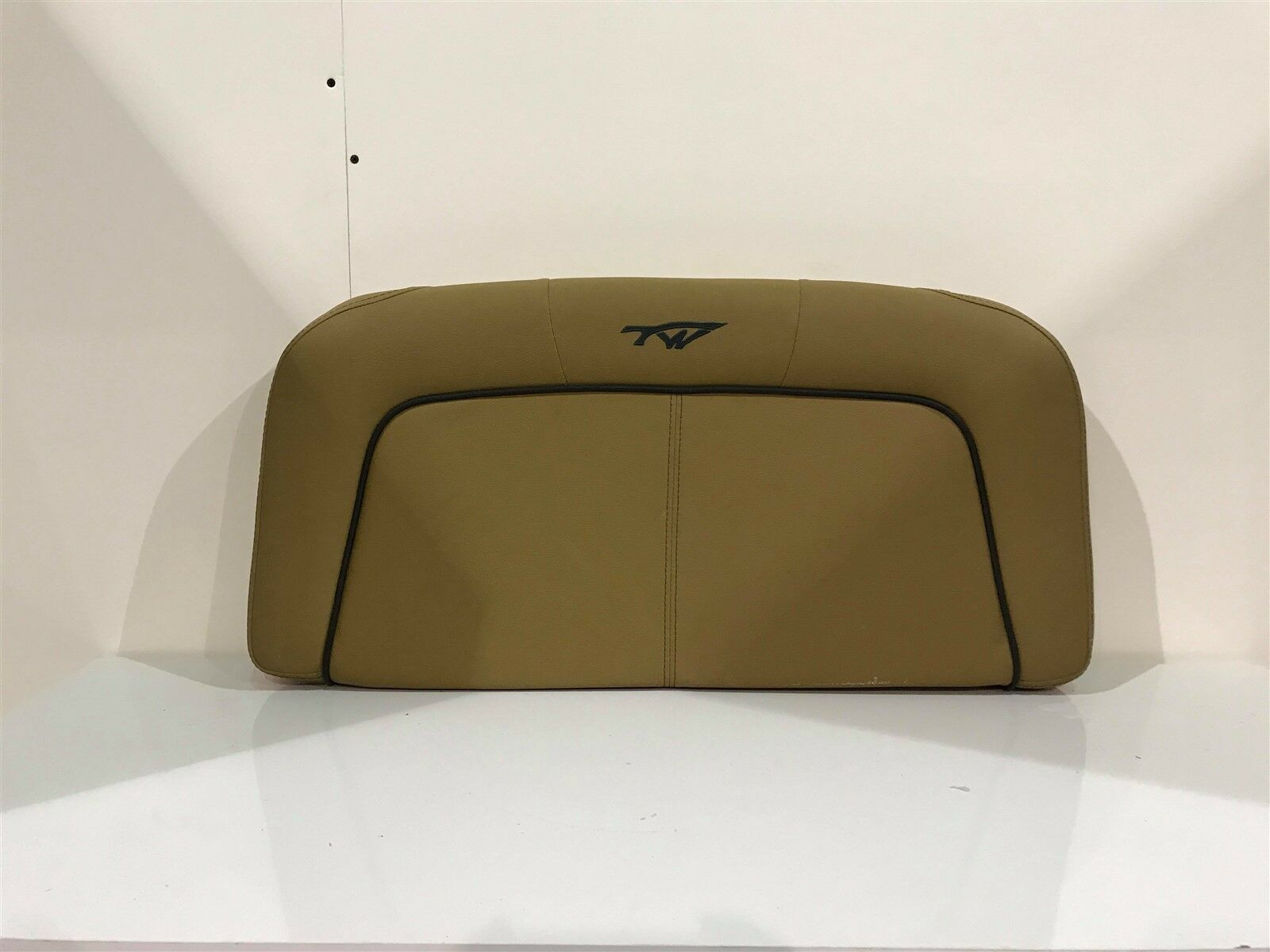 Tidewater 2500CC Dark Tan Console Backrest Cushion TW 25.6 Boat/Marine