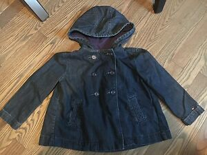Tommy Hilfiger denim coat 4T