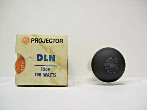 DLN Projector Projection Lamp Bulb 120V 750W GE Brand *AVG. 25-HOUR LAMP*
