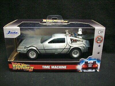 Jada Toys Back To The Future II Time Machine Delorean 1:32 Scale.