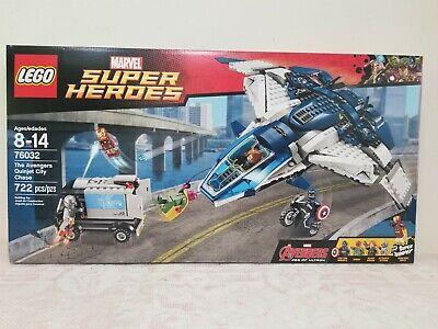 LEGO Marvel Avengers Quinjet City Chase (76032) Retired NEW SEALED NIB