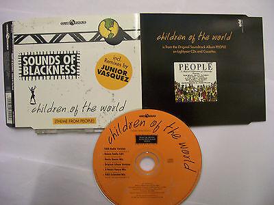 SOUNDS OF BLACKNESS Children Of The World (6 MIXES)  – 1996 EU CD Maxi  -