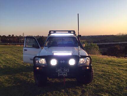Nissan patrol 1999 dx factory turbo diesel 4.2td coil cab Campbellfield Hume Area Preview