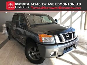 2015 Nissan Titan PRO-4X | 4X4 | Backup Cam | Leather | Nav | He