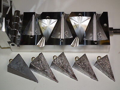 Tackle Craft - Pyramid Sinker Mold