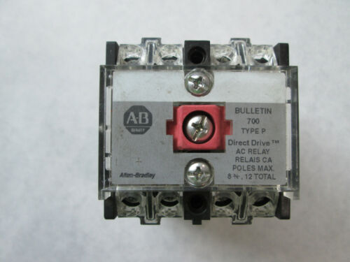 Allen Bradley 700-P400A24 Control Relay With 24 VAC Coil (Series D)