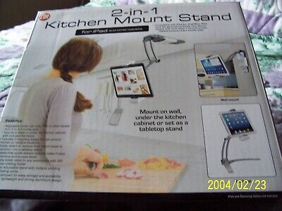 CTA 2-in-1 Kitchen Mount Stand for iPad and other tablets