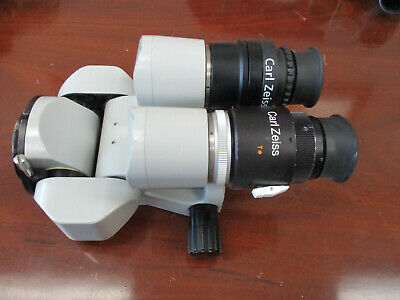 Zeiss Opmi Surgical Microscope 0-180 Binocular F170 10x22b View Pictures