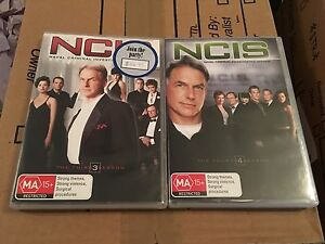 NCIS Seasons 3 & 4 West Lakes Charles Sturt Area Preview