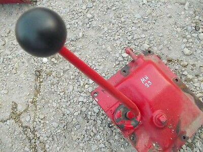 Massey Harris 33 Tractor Original Transmission Cover Panel Gear Shifter Tower