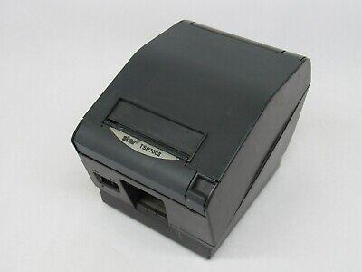 Star Tsp700ii Thermal Pos Receipt Printer Parallel Dark Gray
