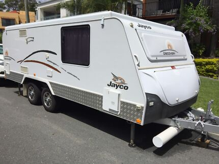 Jayco Discovery 17.5 dual axel pop top ensuite 2011 outback kit