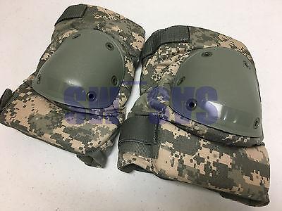 US ARMY ISSUED ACU UCP KNEE PADS MEDIUM SET MINT