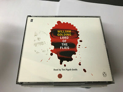 Lord of the Flies (Penguin) by William Golding , (Audio 3 CD) (Lord Of The Flies By William Golding Audio)