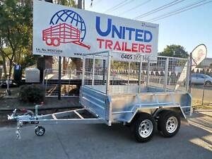 Heavy Duty 8x5 Tandem Galvanised Box Trailer with EXTRA HIGH SIDE WALL Penrith Penrith Area Preview