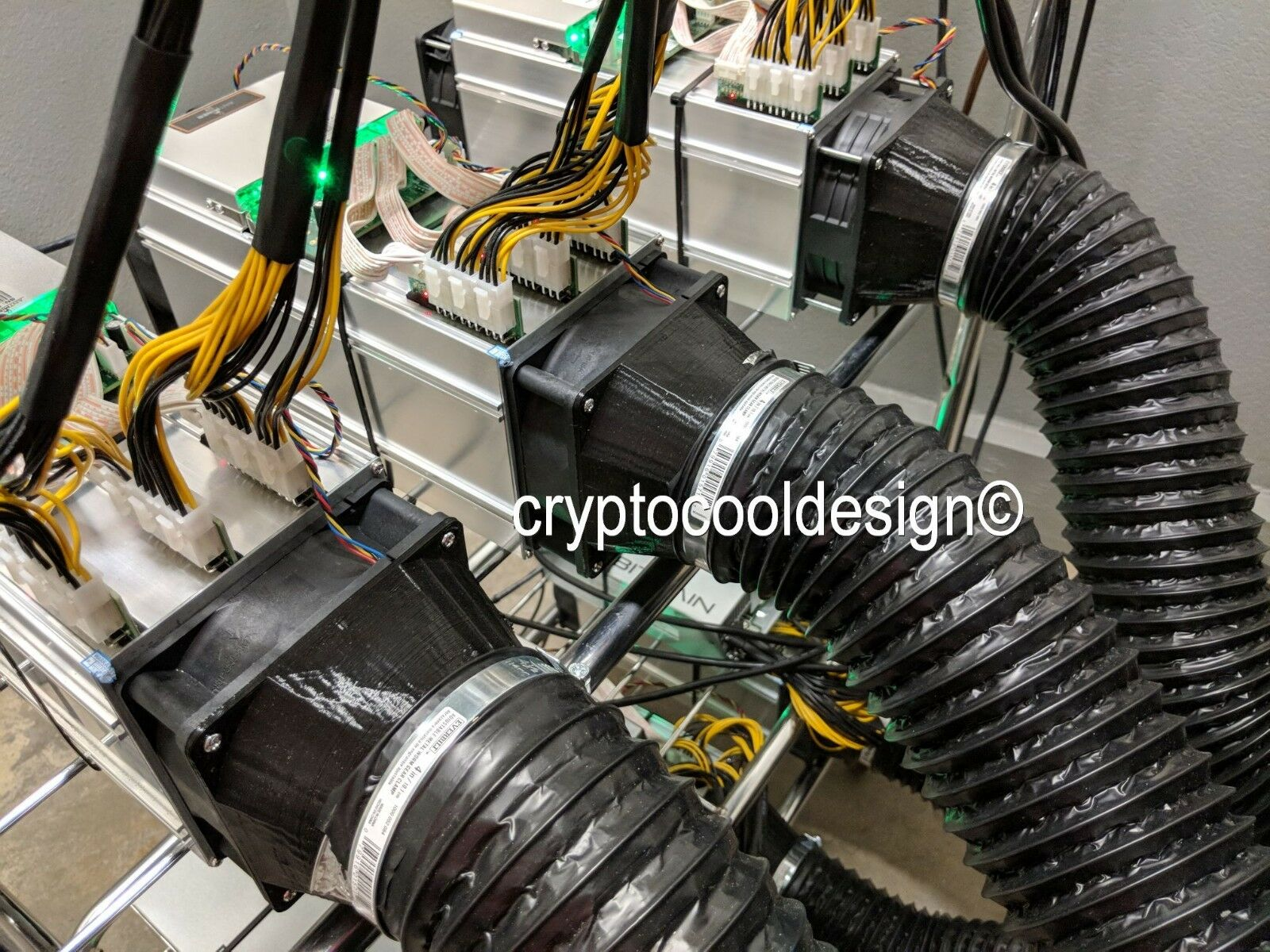 Bitmain Antminer S9 S7 A3 L3+ D3 REAL COOLING SOLUTION NO A/C Required