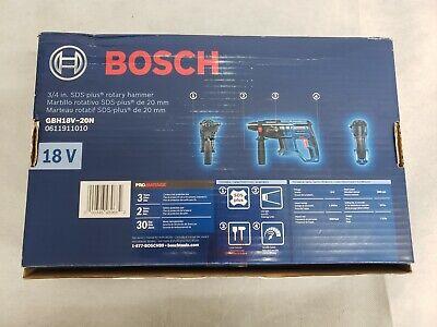 Bosch Gbh18v-20n - 18v 34 Sds-plus Rotary Hammer Tool Only