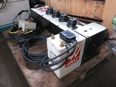 Haas Hrt210 4th Axis With 4 5c Collet 5th Axis Indexers - Trunion Setup