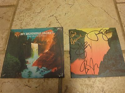 My Morning Jacket The Waterfall Autographed Signed Booklet CD NEW X5 Jim James