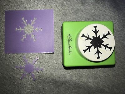 The Paper Studio Large Craft Punch Snowflake   Christmas Winter
