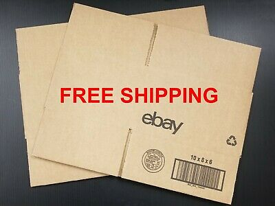 Ebay Shipping Supplies - Boxes 10 X 8 X 6 - Pack Of 2 - Free Shipping