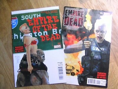 MARVEL Romero's Empire Of The Dead Act One graphic comics lot #4-5 /5 2014 NEW!!