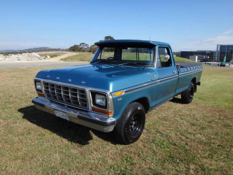 1979 F100 Ford Pickup Truck LTD LWB