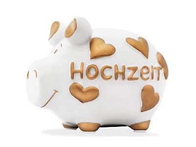 Boda Lujo Hucha 12CM Motivo Money Cerdo Pequeño
