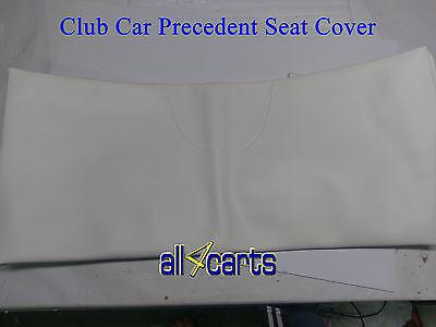 Club Car Precedent Seat Back Cover  White Original Color   Golf Cart 2004 Up