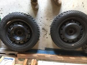 Brand new condition snow tires